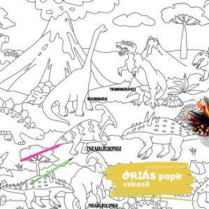 Dino óriás színező